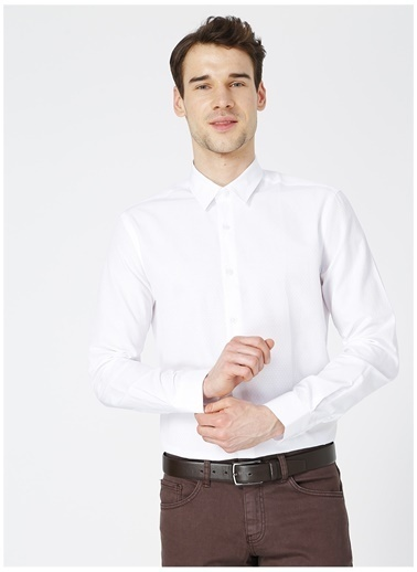 Fabrika Fabrika 517 Beyaz Erkek Gömlek Beyaz